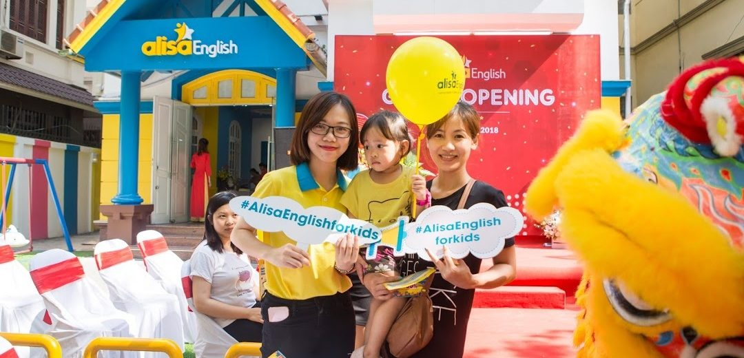 Trung tâm tiếng Anh cho trẻ em tại Hà Nội