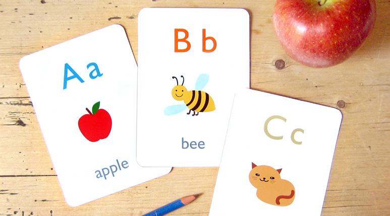 Sử dụng flashcard để giúp ba mẹ dạy bé học tiếng Anh hiệu quả