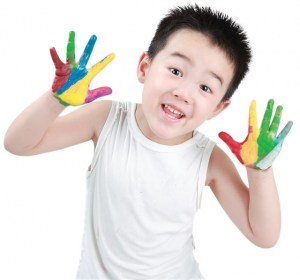 dạy tiếng anh cho trẻ 3, 4 tuổi