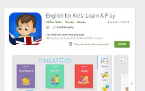 phần mềm học tiếng anh lớp 1 miễn phí