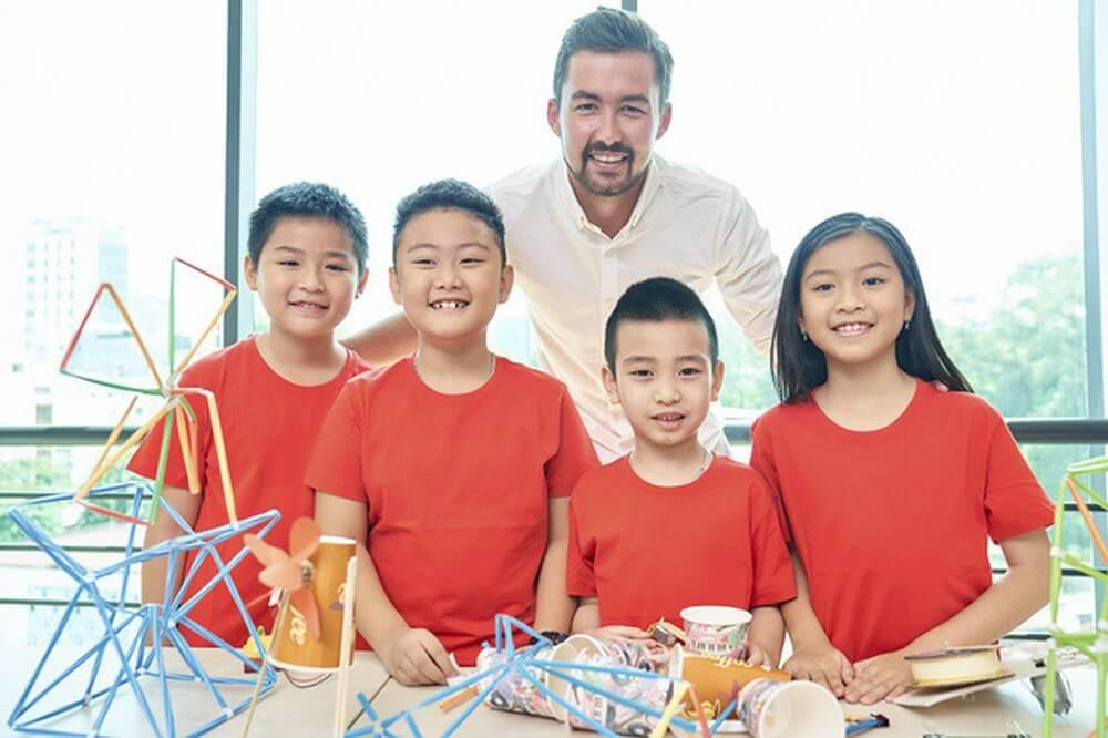 Trung tâm tiếng anh trẻ em tại Linh Đàm