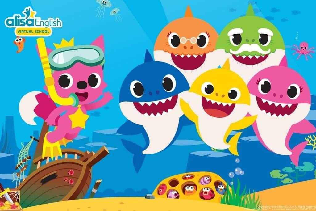 Bài hát tiếng Anh thiếu nhi dễ học nhất - Baby Shark