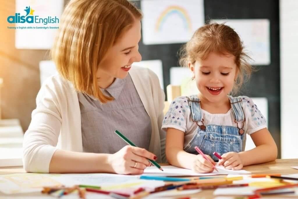 Dạy Anh ngữ cho bé tại nhà bằng cách xây dựng thói quen cho trẻ
