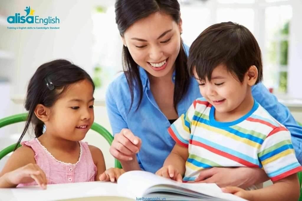 Dạy Anh ngữ cho bé tại nhà bằng việc học tiếng Anh qua trò chơi