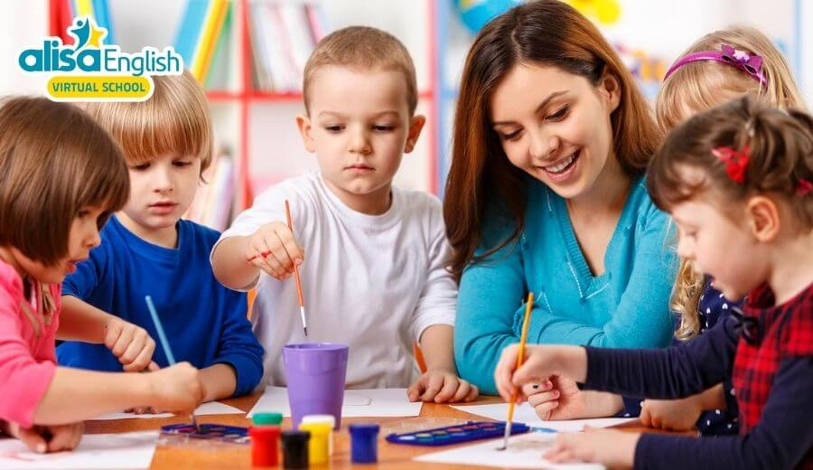 4 phương pháp dạy tiếng Anh cho trẻ 4 tuổi đơn giản mà hiệu quả