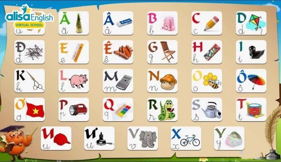 Những điều cần biết khi dạy tiếng Anh cho trẻ em bằng hình ảnh