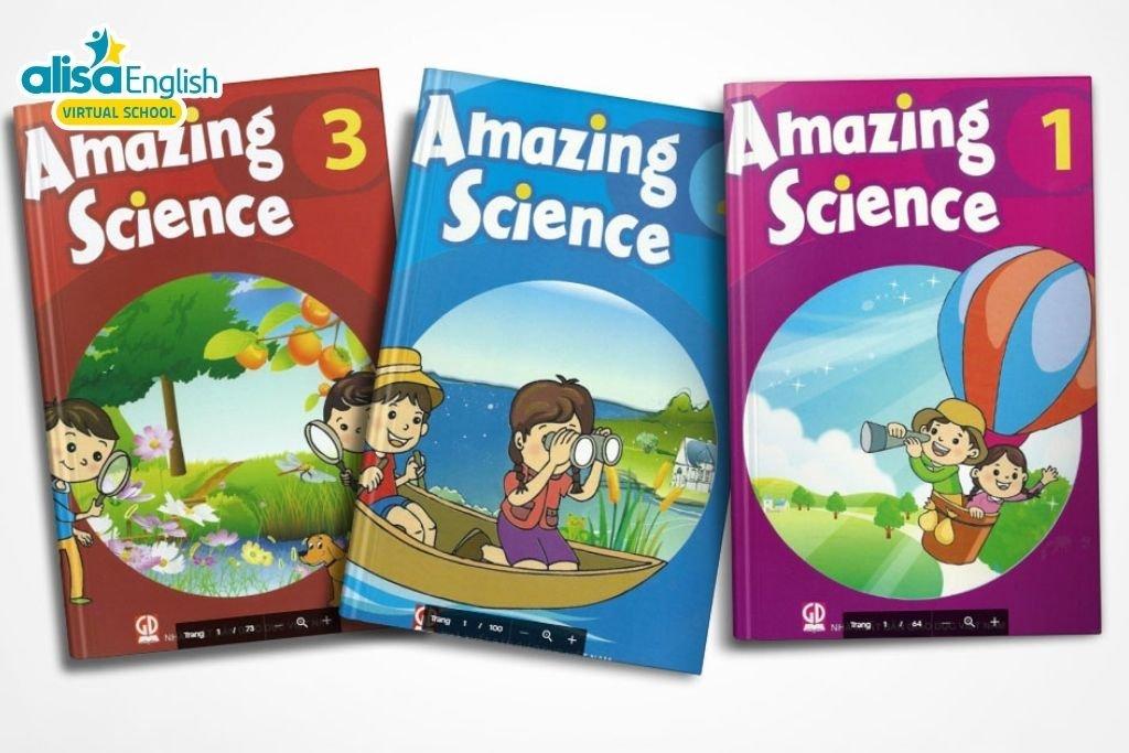 Bộ sách tiếng Anh cho bé miễn phí - Amazing science
