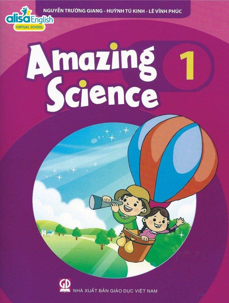 Bộ sách tiếng Anh cho bé miễn phí - Amazing science 1