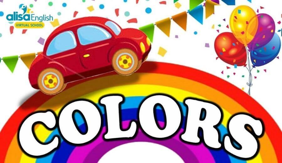 Top list 10 bài hát tiếng Anh trẻ em theo chủ đề Colors - Sắc màu
