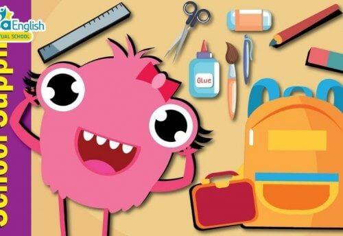 Top 5 bài hát tiếng Anh trẻ em theo chủ đề Classroom Objects - Đồ dùng học tập