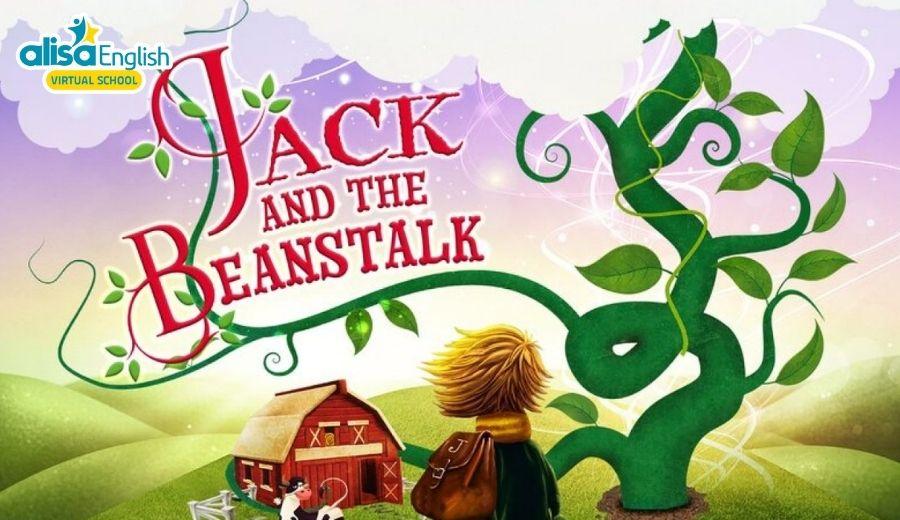 Truyện cổ tích song ngữ Jack và hạt đậu thần giúp bé học tốt tiếng Anh