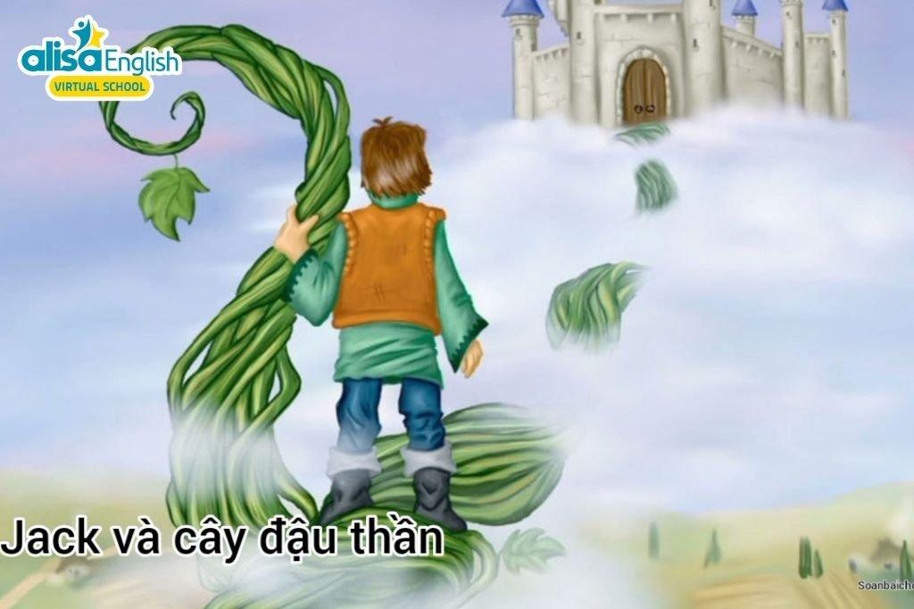 Truyện cổ tích song ngữ Jack và hạt đậu thần