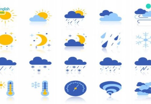 Bỏ túi những từ vựng tiếng Anh cho bé theo chủ đề thời tiết hữu ích nhất