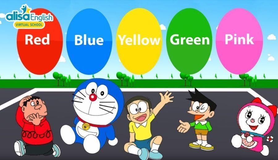 Phương pháp giúp bé học từ vựng tiếng Anh trẻ em theo chủ đề màu sắc dễ nhớ dễ thuộc