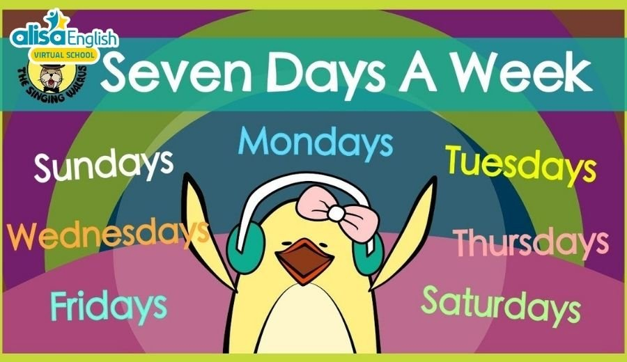 Tặng bé 10 bài hát tiếng Anh trẻ em về chủ đề các ngày trong tuần - Days of week