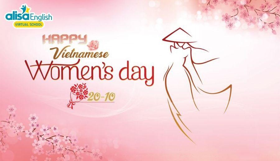 Từ vựng tiếng Anh cho trẻ theo chủ đề ngày Phụ nữ Việt Nam - Vietnamese Women's Day 20/10